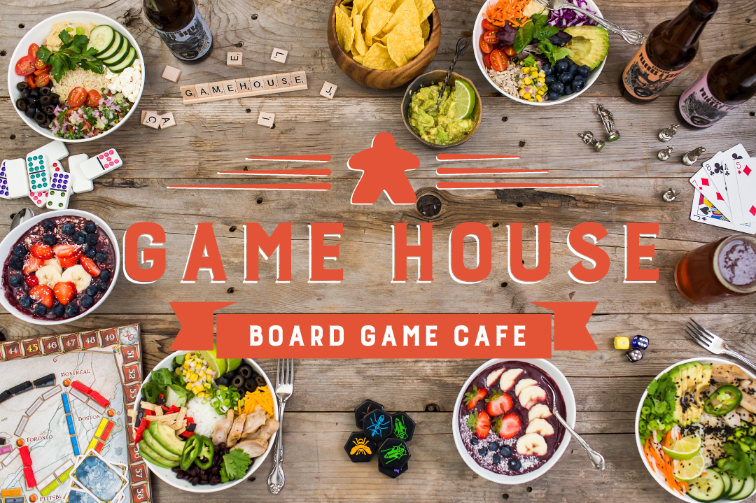 Board Game Cafe in Beaverton Portland Oregon