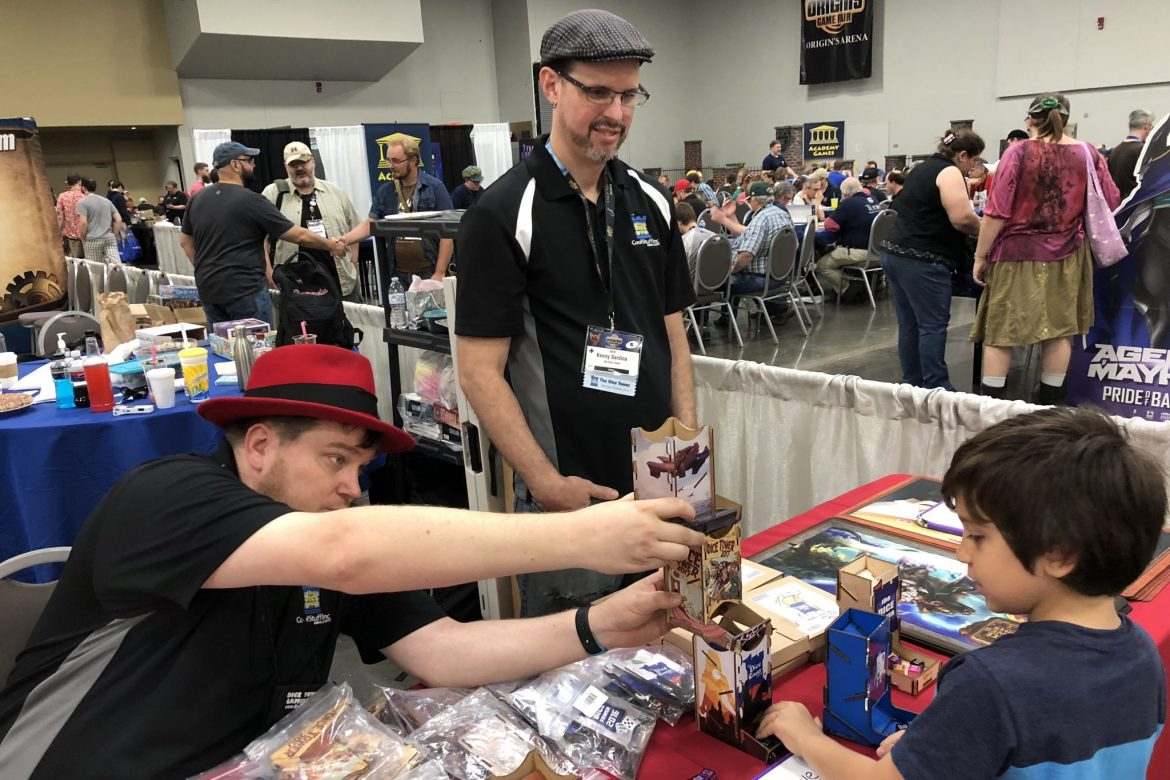 Origins 2018 with The Dice Tower