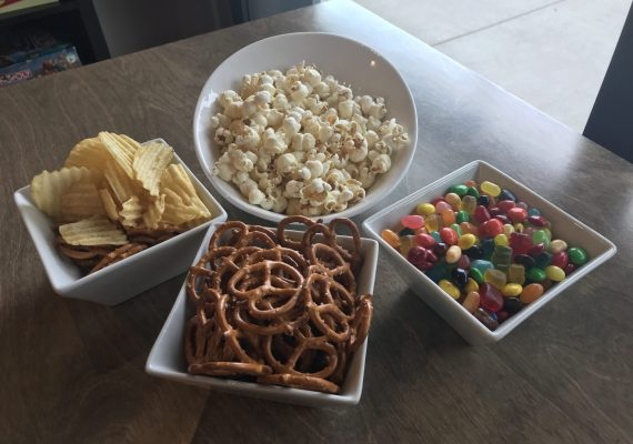 Assorted Snacks @gamehousecafe
