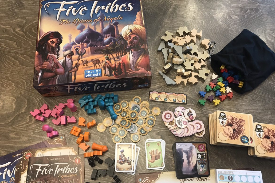 New Game Five Tribes