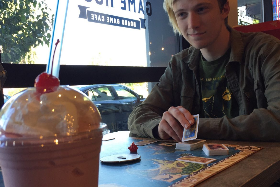 Board Games Go Better with Milkshakes
