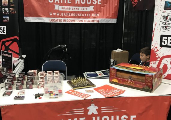 Game House Cafe at Rose City Comic Con
