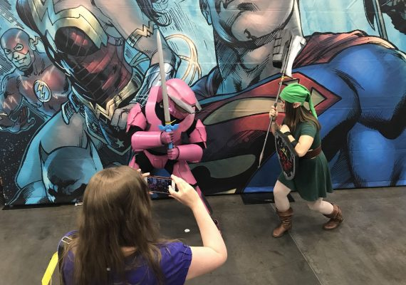Who Would Win?  Link or the Halo dude? #RCCC2018