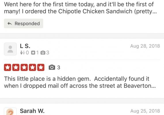 Great Reviews In View