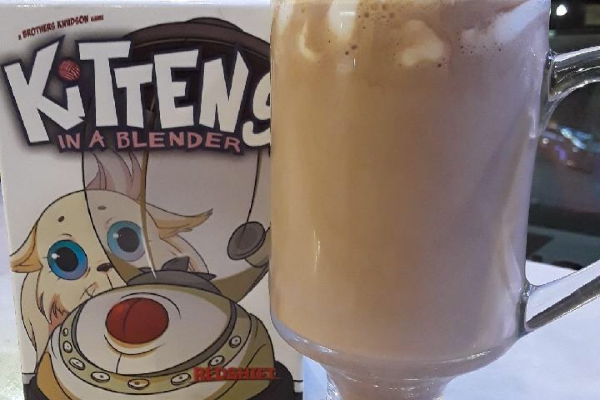 The Game is Kittens In A Blender. No, That Drink Is Not Made of Kittens
