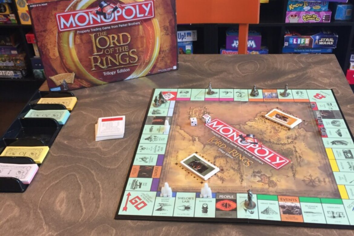 Lord the the Rings Monopoly