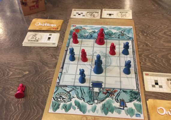 Featured Two-Player Game: Onitama by @ArcaneWonders