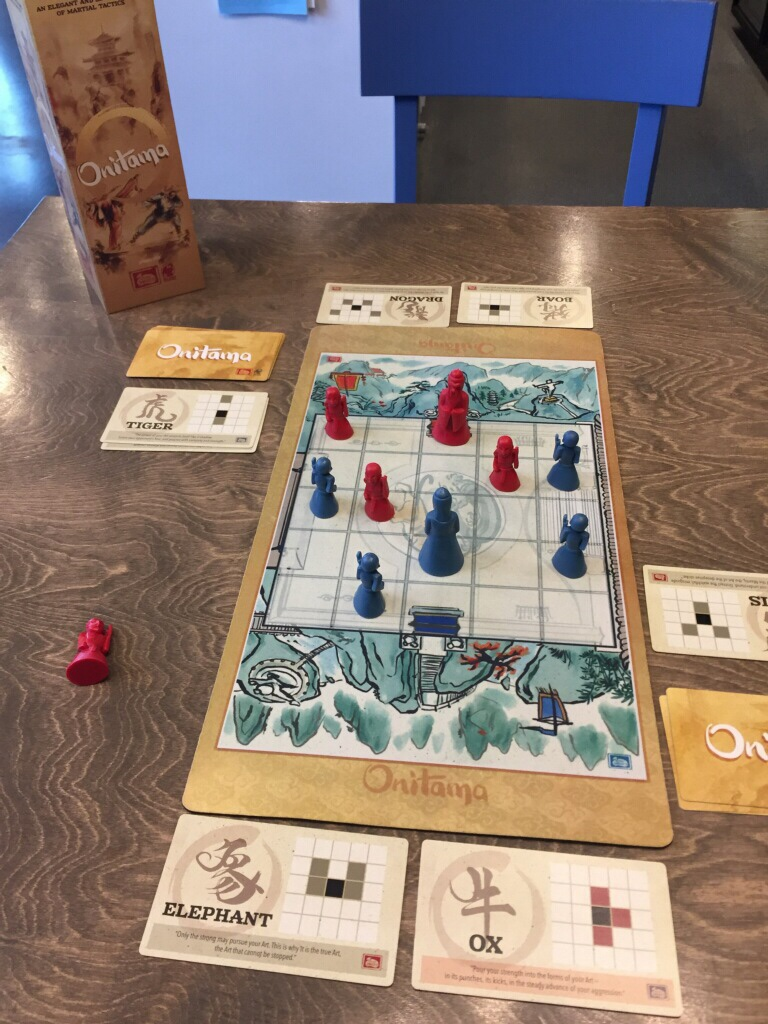 Featured Two-Player Game: Onitama by @ArcaneWonders - Game
